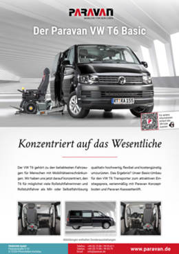 Flyer Paravan VW T6 Basic