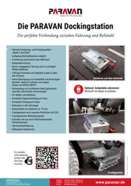 Flyer Paravan Dockingstation