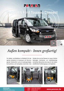 Flyer Paravan Ford Tourneo Connect