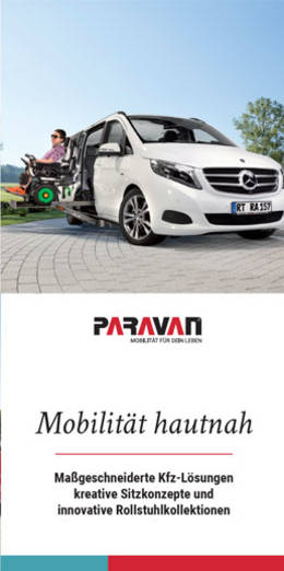 Informationsflyer Paravan