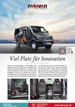 Flyer Paravan Merceds Benz Sprinter
