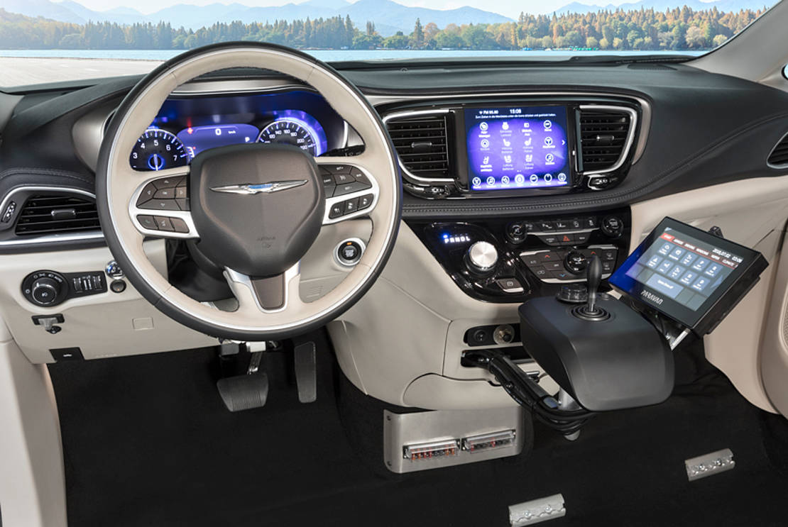 Chrysler Pacifica mit Space Drive